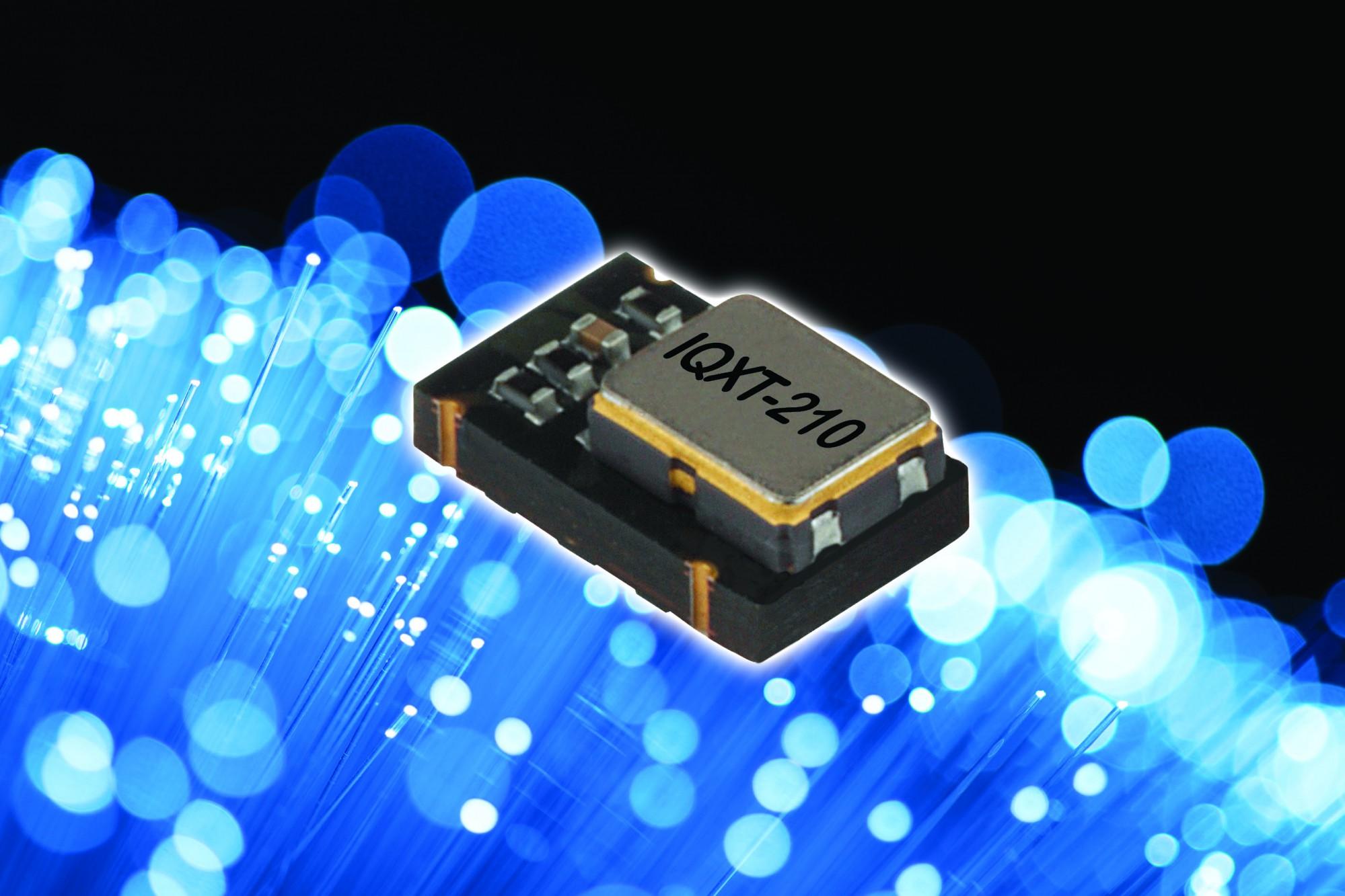 Le nouveau TCVCXO de IQD offre une stabilité de ±0.14ppm dans un boîtier de 5 x 3.2mm