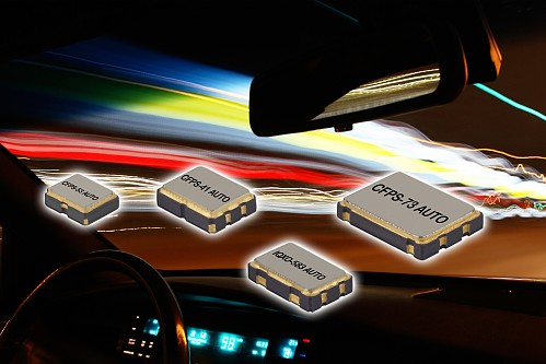 Nouvelle gamme d'oscillateurs à horloge conformes aux normes AEC-Q200 et TS16949 de l'industrie automobile