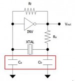 Figure 1: Circuit oscillant Pierce